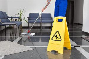 floor dusting